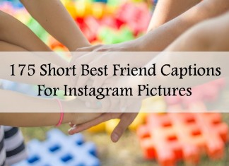 175 Short Best Friend Captions For Instagram Pictures