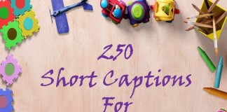 250 Short Captions For Profile Pictures