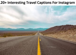 Interesting Travel Captions For Instagram