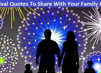 Festival Quotes To Share With Your Family & Friends