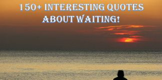 Interesting Quotes About Waiting