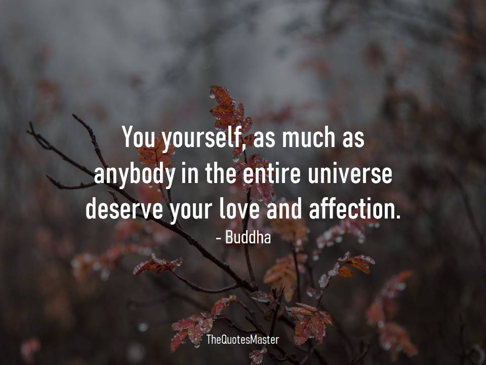 Love and affection Buddha quotes