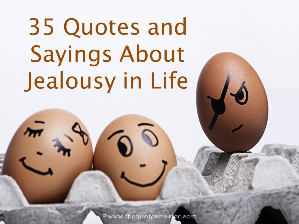 35 quotes and sayings about jealousy in life
