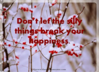 Don't Spoil Happiness
