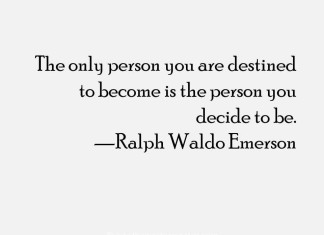 Inspiring Quote From Ralph Waldo Emerson