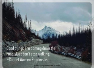 Good things are going to happen picture quote