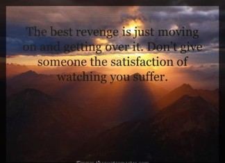 Moving on picture quotes