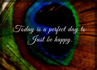 Be happy today quote with picture