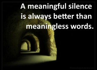 Picture Quotes About Silence