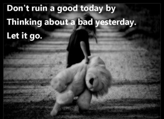 Let if go Picture Quotes