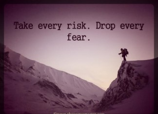 take risk picture quotes