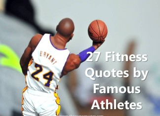 27 Fitness Quotes by Famous Athletes