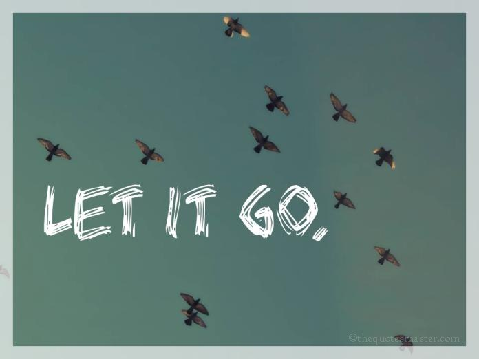 Let It Go on Cute Quotes Pics And Sayings