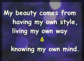 My Beauty Picture Quotes
