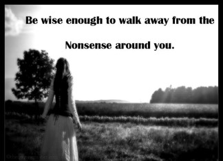 Walk away pictures Quotes