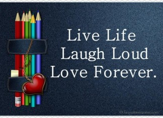Live Life Quotes and Sayings