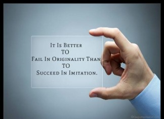 Picture Quotes about Originality and Imitation