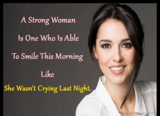 Strong Women Cry Quotes