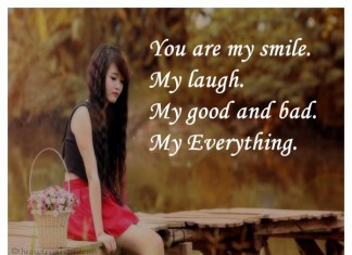 You are my smile love quotes