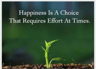 Happiness is a choice quote