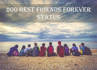 200 Best Friends Forever Status