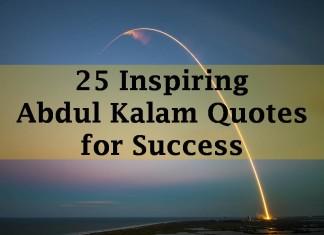 25 Inspiring Abdul Kalam Quotes for Success