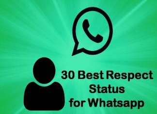 30 Best Respect Status for Whatsapp