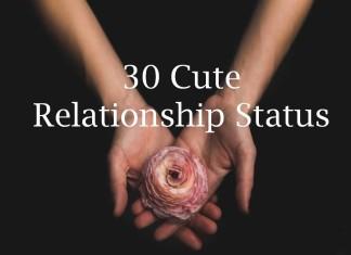 30 Cute Relationship Status