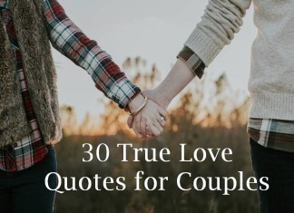 30 True Love Quotes for Couples