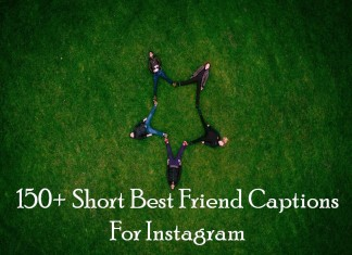 150+ Short Best Friend Captions For Instagram