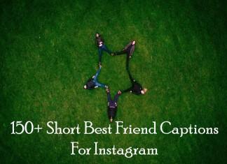 150+ Short Best Friend Captions For Instagram