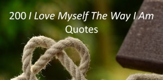 200 I Love Myself The Way I Am Quotes