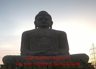 150+ Buddha Quotes on Life, Love, Happiness, Karma & Death