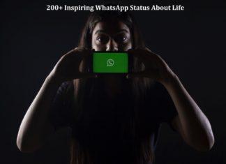 Inspiring WhatsApp status about life