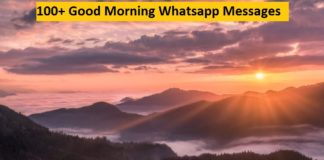 Good Morning Whatsapp Messages