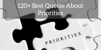 120+ Best Quotes About Priorities