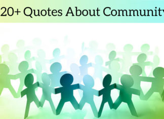 120+ Quotes About Community