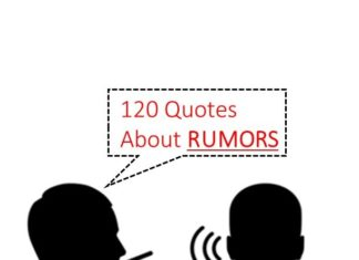 Best quotes about rumors