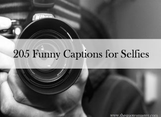 205 Funny Captions for Selfies