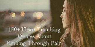 Heart Touching Quotes About Smiling Through Pain